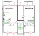 uklad mieszkań - typ A i B